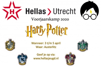 Voorjaarskamp 2020: Harry Potter